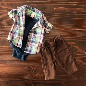 Other - 0-3 Month Baby Boy Outfit